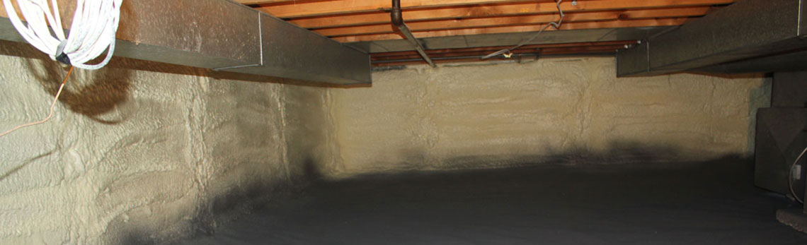 crawl space insulation in Illinois
